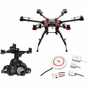DJI Spreading Wings S900 + Flight Control System A2 + Zenmuse Z15 GH4 Combo dron Professional Aircraft multi-rotor Hexacopter Gyroscope