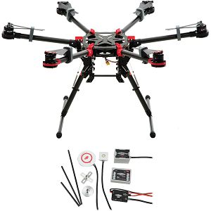 DJI Spreading Wings S900 + WKM Combo Hexacopter dron Aircraft Professional multi-rotor WooKong-M Flight Control System