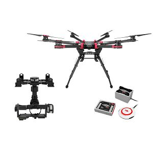 DJI Spreading Wings S900 + WKM + Z15 Zenmuse N7 Gimbal Combo dron Professional Aircraft multi-rotor Hexacopter WooKong-M Flight Control System Gyroscope