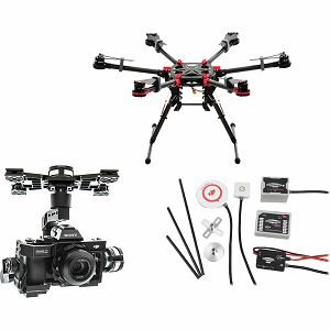 DJI Spreading Wings S900 + WKM + Z15 Zenmuse A7 Gimbal Combo dron Professional Aircraft multi-rotor Hexacopter WooKong-M Flight Control System Gyroscope
