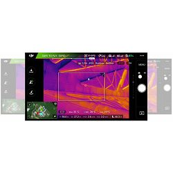 DJI Zenmuse XT Thermal Camera ZXTB13FR 336x256 30Hz (Fast frame) Lens 13mm objektiv termovizijska kamera (radiometry temperature measurement model)
