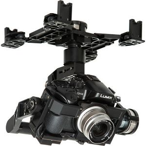 DJI Z15-GH4 HD Zenmuse 3-Axis Gimbal Gyroscope for Panasonic GH3/GH4