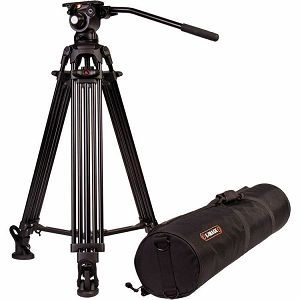 E-Image EG03A2 Two Stage Aluminum Video Tripod + GH03 Head