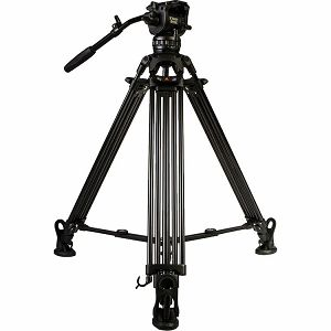 E-Image EG06A2 2-Stage Aluminum Tripod + GH06 Video Fluid Head HD Kit