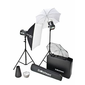 Elinchrom Style RX 600 To-Go-Set incl. Umbrella Stand Set + Case Style RX 600/600 To Go Set 600ws