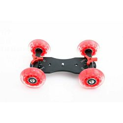 Falcon Eyes Camera Dolly Small SK-01 video skater klizni s 4 rote za fotoaparate i kamere