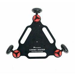 Falcon Eyes Camera Dolly Triangle SK-03 video klizni skater s 3 rote za fotoaparate i kamere