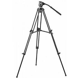 Falcon Eyes VT-8801 122cm 6kg + VH-1 Fluid Damped Pan Head komplet tripod aluminijski video stativ s fluidnom glavom