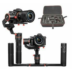 Feiyu Tech A2000 DSLR gimbal single + dual handle 3-osni stabilizator za video snimanje