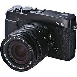 Fuji Finepix X-E1 + 18-55 f2.8-4.0 OIS KIT BLACK Fujifilm Digital Camera Kit fotoaparat + objektiv XF 18-55mm f/2.8-4 Lens (Black)