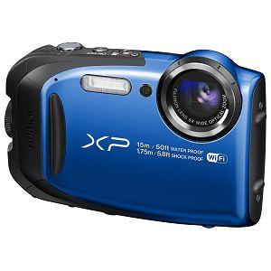 Fuji FinePix XP80 Blue Fujifilm XP-80 plavi digitalni fotoaparat 5x 16m CMOS (Smart FSI) 2.7