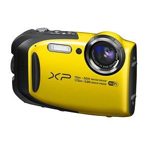 Fuji FinePix XP80 Yellow Fujifilm XP-80 žuti digitalni fotoaparat 5x 16m CMOS (Smart FSI) 2.7