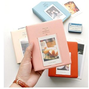 Fuji foto album za Instax mini film boja maline