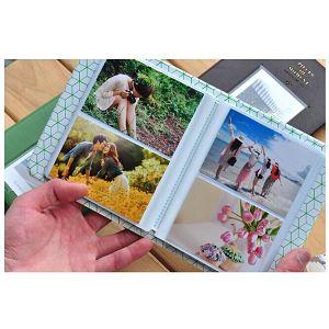 Fuji foto album za Instax mini film narančasta boja