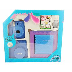 Fuji Instax Mini 9 KIT Cobalt Blue kobalt plava (fotoaparat + album + 1x10 film papiri + futrola)