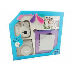 Fuji Instax Mini 9 KIT Smoky White bijeli (fotoaparat + album + 1x10 film papiri + futrola)