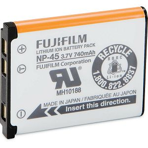 Fuji NP-45 Lithium-Ion Rechargeable Battery Fujifilm baterija