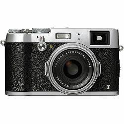 Fuji X-100T Fujifilm digitalni fotoaparat srebreni X100T Fuji X-100T 23mm F2.0, X-Trans2 PD (16m, APS), 3.0
