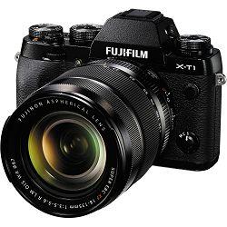 Fujifilm X-T1 + 18-135 KIT crni Fuji fotoaparat i objektiv 18-135mm