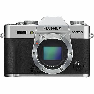 Fuji X-T10 Body Silver Fujifilm digitalni mirrorless fotoaparat XT10 srebreni