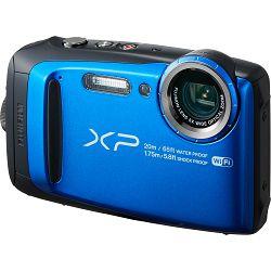Fujifilm FinePix XP120 Blue Fuji XP-120 plavi vodootporni podvodni digitalni fotoaparat WiFi remote 5x zoom 16.4Mpx 28mm BSI-CMOS sensor Digital camera