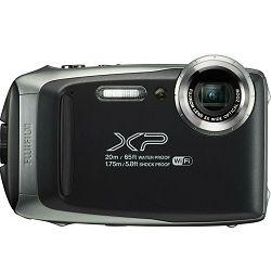 Fujifilm FinePix XP130 Dark Silver Fuji XP-130 tamno srebreni vodootporni podvodni digitalni fotoaparat 20m WiFi FullHD 5x zoom 10fps 16.4Mpx 28-140mm Smart FSI CMOS senzor Digital camera