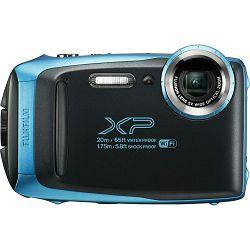 Fujifilm FinePix XP130 Sky Blue Fuji XP-130 plavi vodootporni podvodni digitalni fotoaparat 20m WiFi FullHD 5x zoom 10fps 16.4Mpx 28-140mm Smart FSI CMOS senzor Digital camera