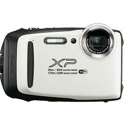 Fujifilm FinePix XP130 White Fuji XP-130 bijeli vodootporni podvodni digitalni fotoaparat 20m WiFi FullHD 5x zoom 10fps 16.4Mpx 28-140mm Smart FSI CMOS senzor Digital camera