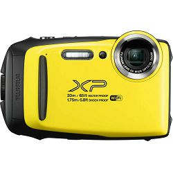 Fujifilm FinePix XP130 Yellow Fuji XP-130 žuti vodootporni podvodni digitalni fotoaparat 20m WiFi FullHD 5x zoom 10fps 16.4Mpx 28-140mm Smart FSI CMOS senzor Digital camera