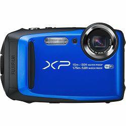 Fuji FinePix XP90 Blue Fujifilm XP-90 plavi vodootporni podvodni digitalni fotoaparat WiFi remote 5x zoom 16.4Mpx 28mm BSI-CMOS sensor Digital camera