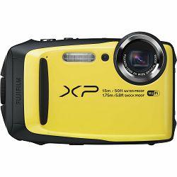 Fuji FinePix XP90 Yellow Fujifilm XP-90 žuti vodootporni podvodni digitalni fotoaparat WiFi remote 5x zoom 16.4Mpx 28mm BSI-CMOS sensor Digital camera