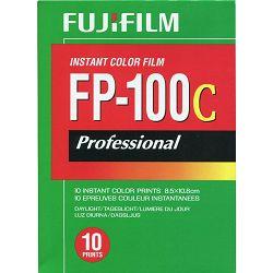 Fujifilm FP-100C Professional Instant Color Film ISO 100 (10 Exposure, Glossy) FP-100 C