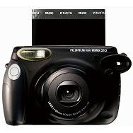Fujifilm Instax 210 polaroid camera Fuji crni instant fotoaparat