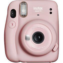 Fujifilm Instax Mini 11 Blush Pink rozi polaroid Fuji fotoaparat s trenutnim ispisom fotografije