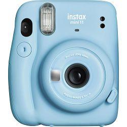 Fujifilm Instax Mini 11 Sky Blue plavi polaroid Fuji fotoaparat s trenutnim ispisom fotografije