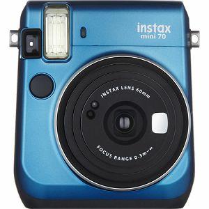 Fujifilm Instax mini 70 Instant Film Camera (Island Blue) Plava Fuji fotoaparat s trenutnim ispisom fotografije