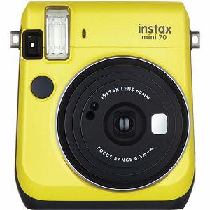 Fujifilm Instax mini 70 Instant Film Camera (Canary Yellow) Žuta Fuji fotoaparat s trenutnim ispisom fotografije
