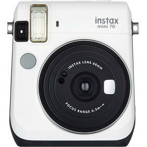 Fujifilm Instax mini 70 Instant Film Camera (Moon White) Bijela Fuji fotoaparat s trenutnim ispisom fotografije