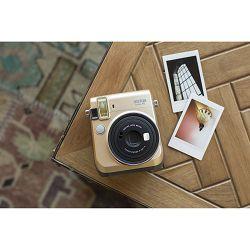 Fujifilm Instax mini 70 Instant Film Camera (Gold) Zlatni Fuji polaroidni fotoaparat s trenutnim ispisom fotografije