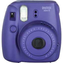 Fujifilm Instax Mini 8 polaroid Fuji ljubičasti Purple Instant Film Camera