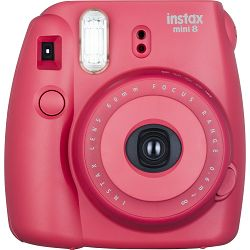 Fujifilm Instax Mini 8 polaroid Fuji malina Raspberry Instant Film Camera