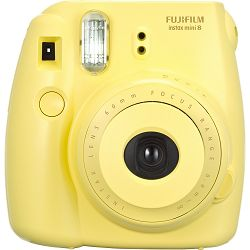 Fujifilm Instax Mini 8 polaroid Fuji žuti yellow Instant Film Camera