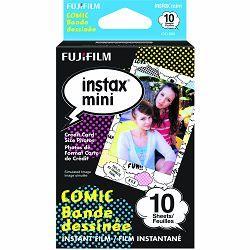 Fujifilm Instax Mini Film Comic foto papir 10 listova (1x10) za Fuji instant polaroidni fotoaparat