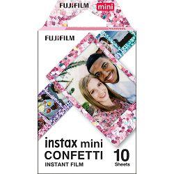 Fujifilm Instax Mini Film Confetti foto papir 10 listova (1x10) za Fuji instant polaroidni fotoaparat