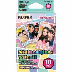 Fujifilm Instax Mini Film Stained Glass foto papir 10 listova (1x10) za Fuji instant polaroidni fotoaparat