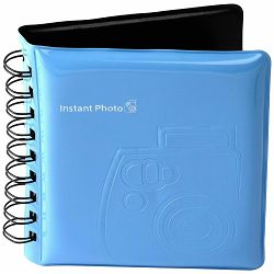 Fujifilm Instax Mini foto album za 64 fotografije plavi Fuji Photo Album blue for 64 photos