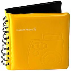 Fujifilm Instax Mini foto album za 64 fotografije žuti Fuji Photo Album yellow for 64 photos