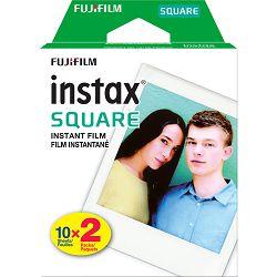 Fujifilm Instax Square film White Frame foto papir 20 listova (2x10) za Fuji instant polaroidni fotoaparat