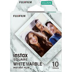 Fujifilm Instax Square film white marble foto papir 10 listova (1x10) za Fuji instant polaroidni fotoaparat