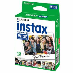 Fujifilm Instax Wide film foto papir 10 listova (1x10 bulk pakiranje) za Fuji Wide 210, Wide 300, Lomography Instant Wide